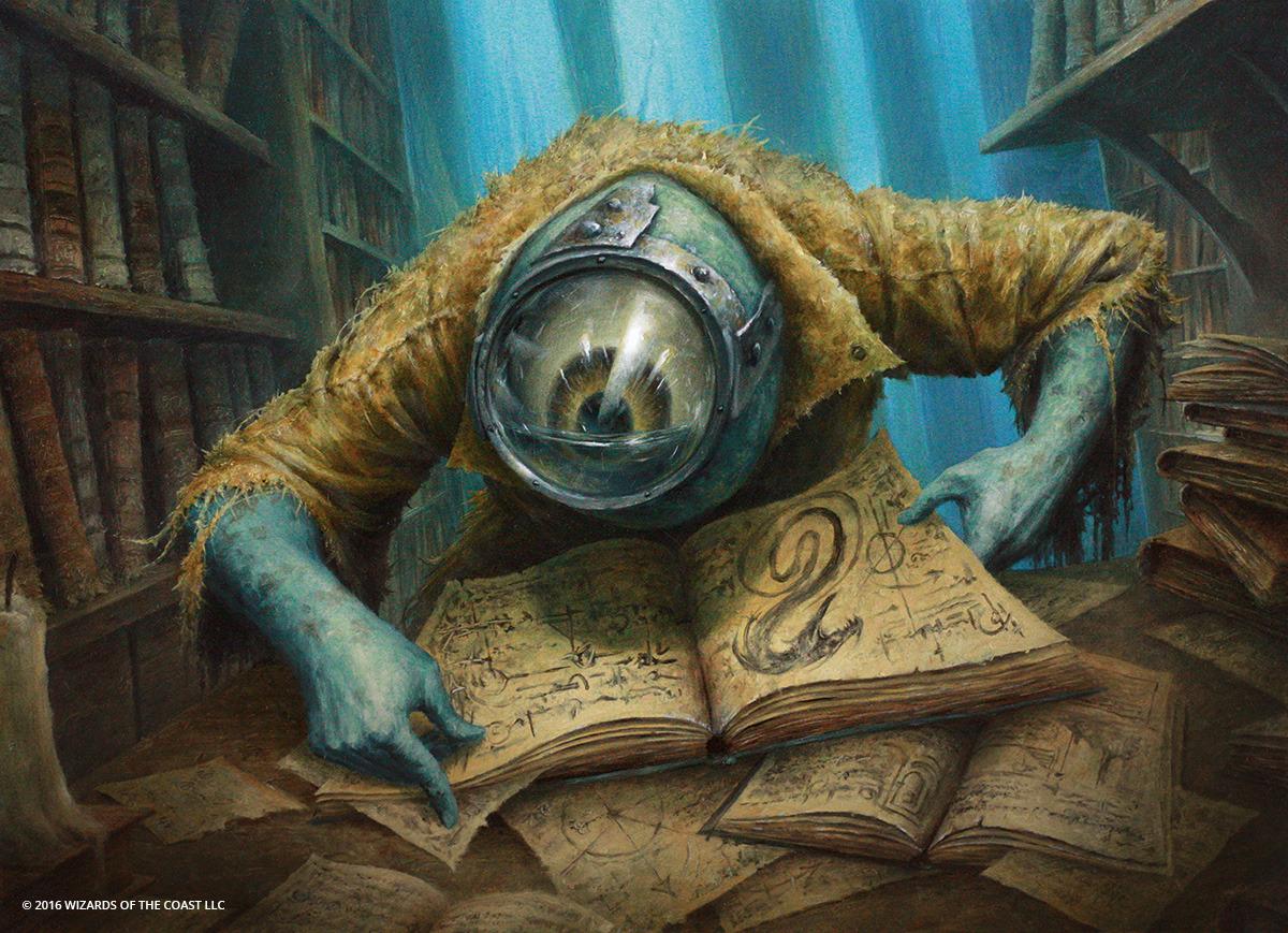 Curious Homunculus | Illustration by Filip Burburan