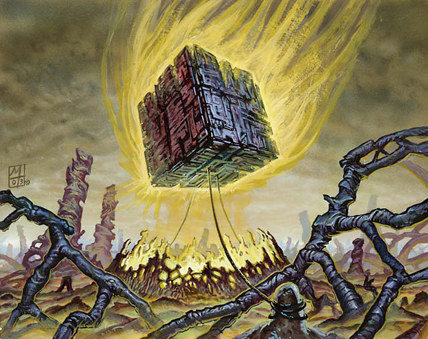Doubling Cube | Illustration by Mark Tedin