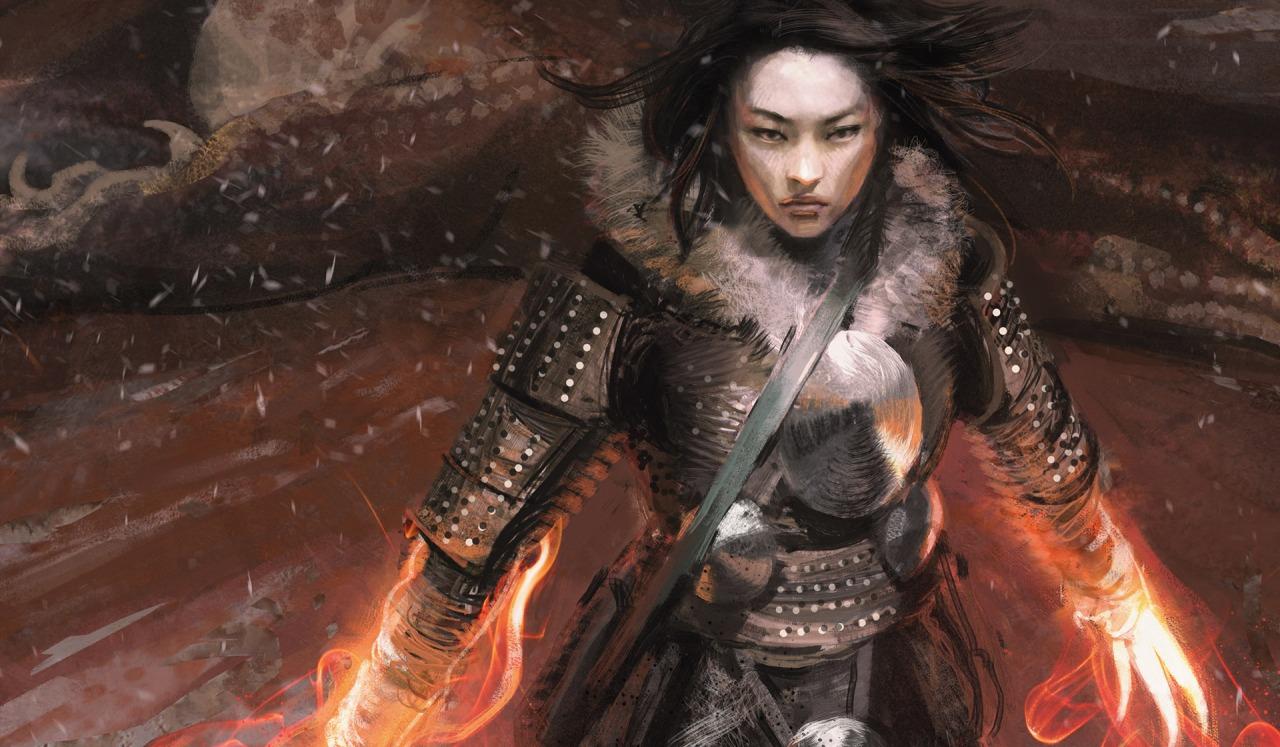 Temur Battle Rage   Illustration by Jaime Jones