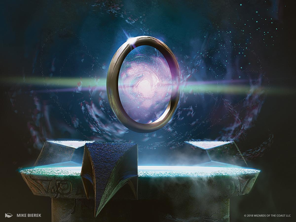 Sol Ring | Illustration by Mike Bierek