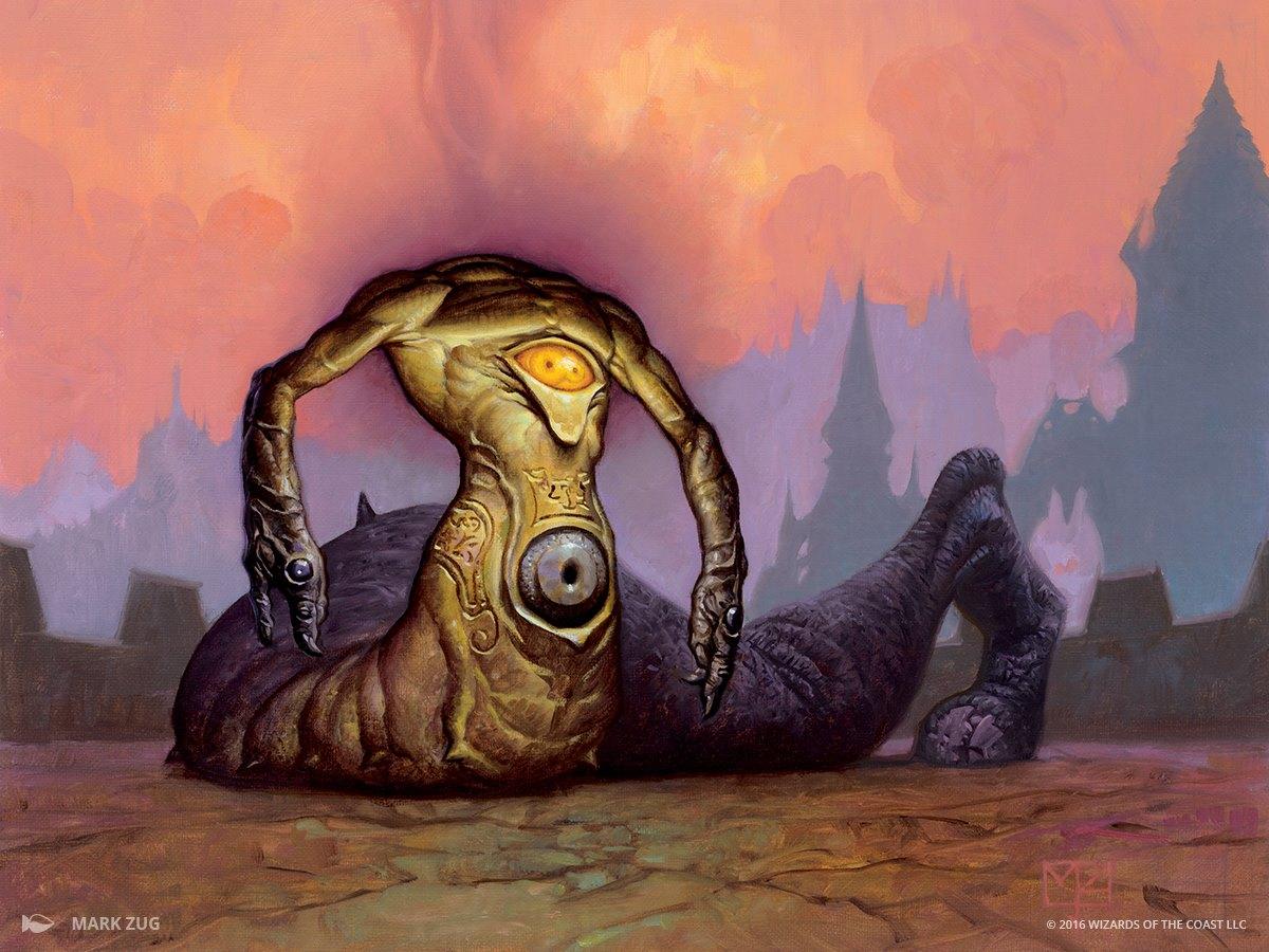 Glint-Eye Nephilim   Illustrated by Mark Zug