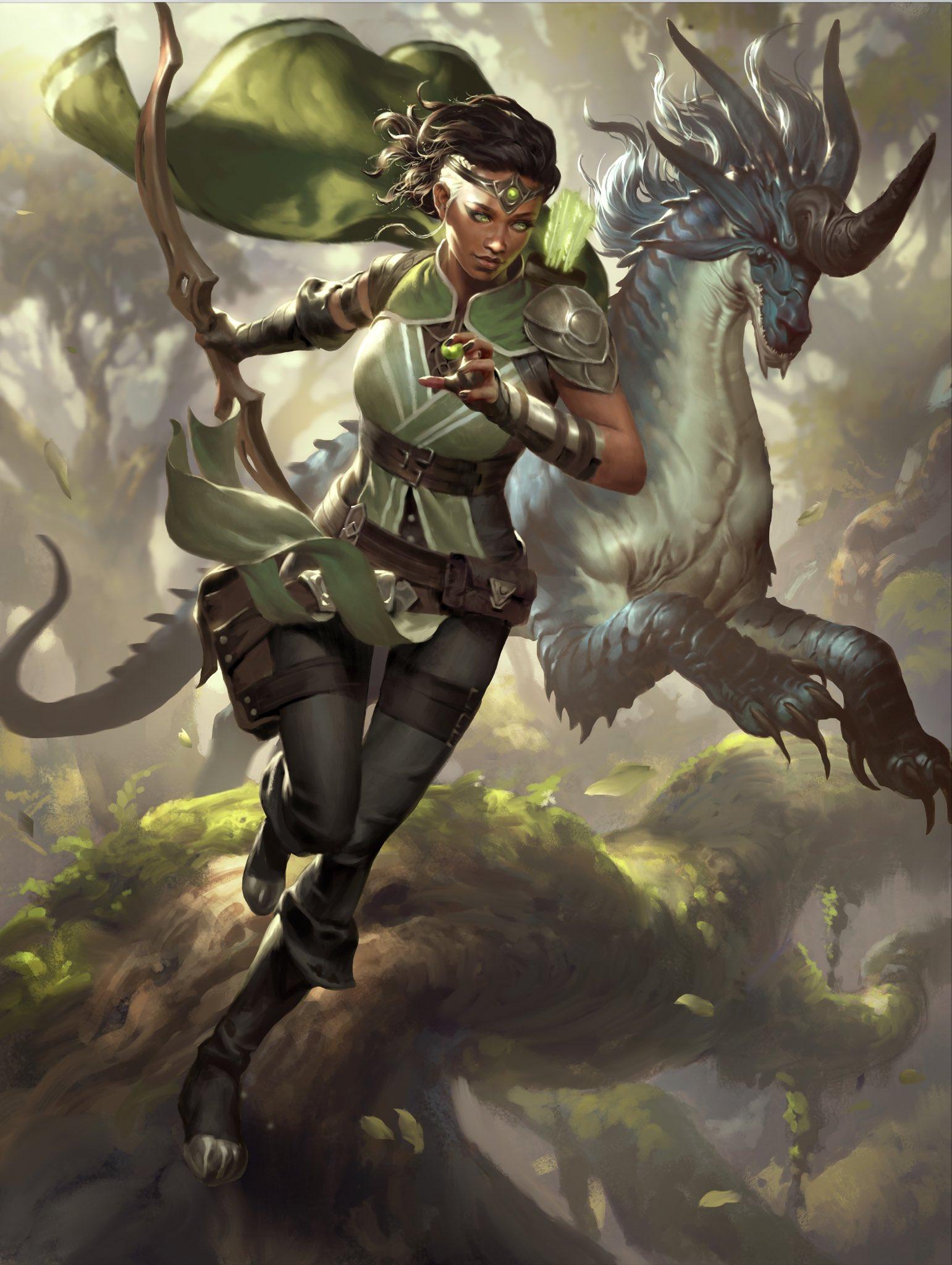 Vivien, Monsters' Advocate | Illustration by Lius Lasahido