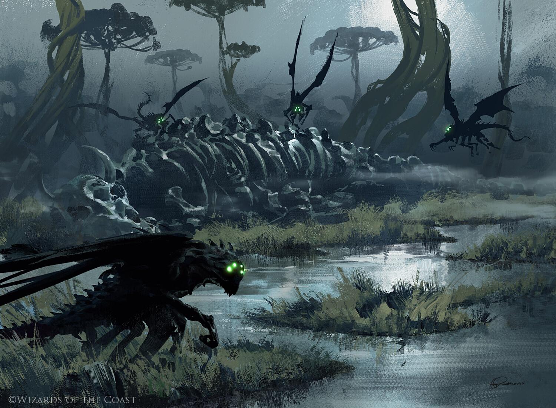 Death's Oasis   Illustration by Grzegorz Rutkowski