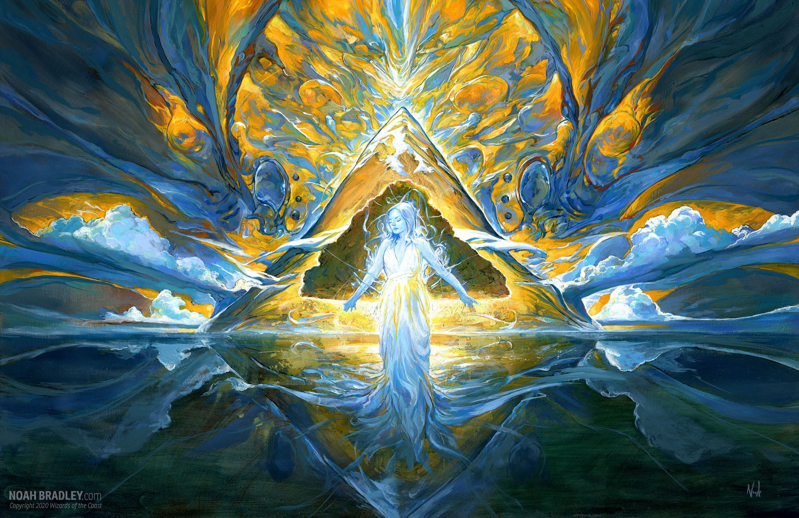 Song of Creation | Illustration by Noah Bradley