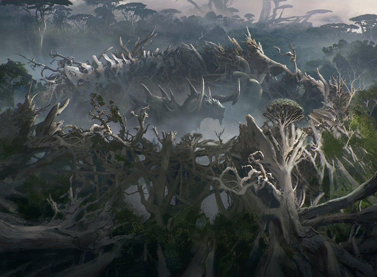 Titan's Nest   Illustration by Cliff Childs