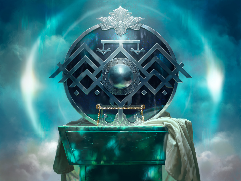 Valkmira, Protector's Shield | Illustration art by Jason Rainville