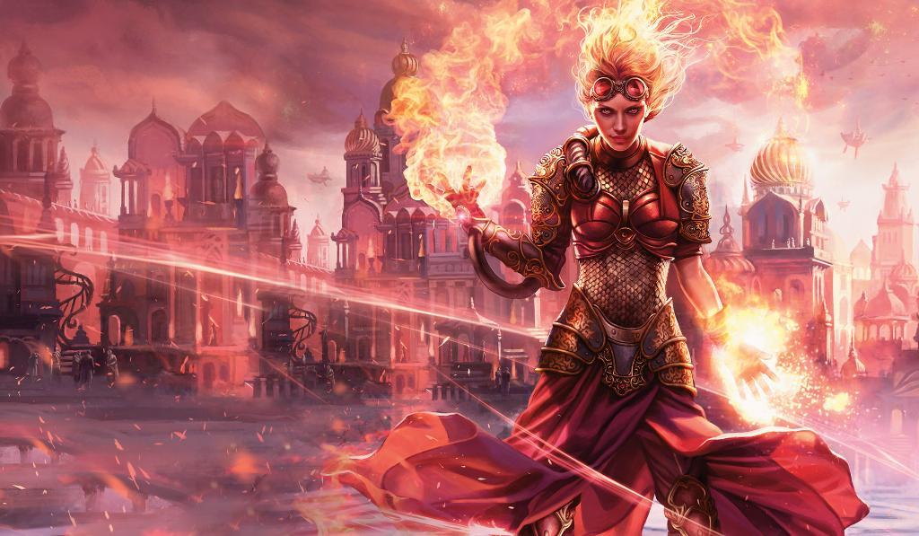 Chandra, Torch of Defiance   Illustration by Magali Villeneuve