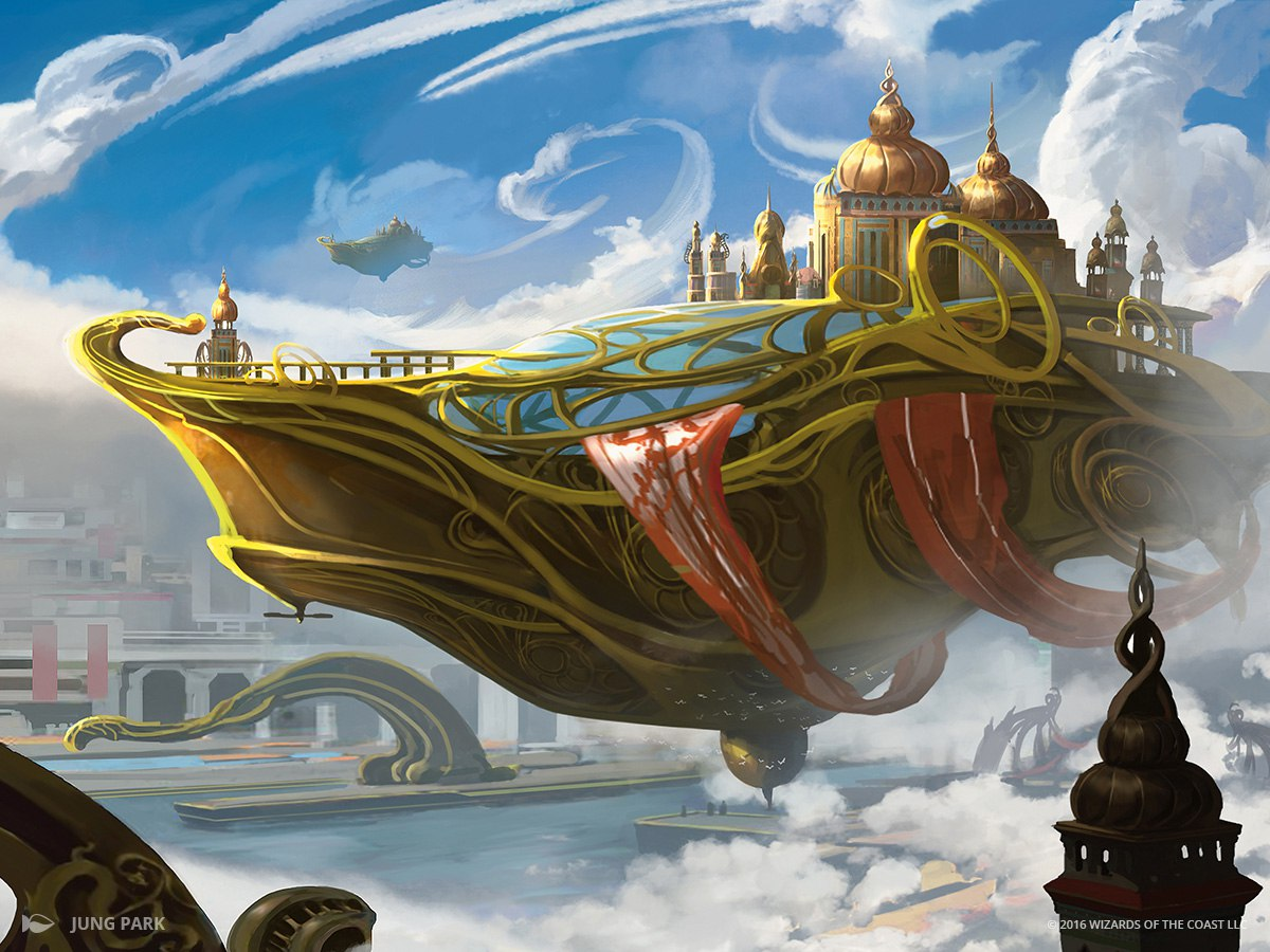 Skysoverign, Consul Flagship | Illustration by Jung Park