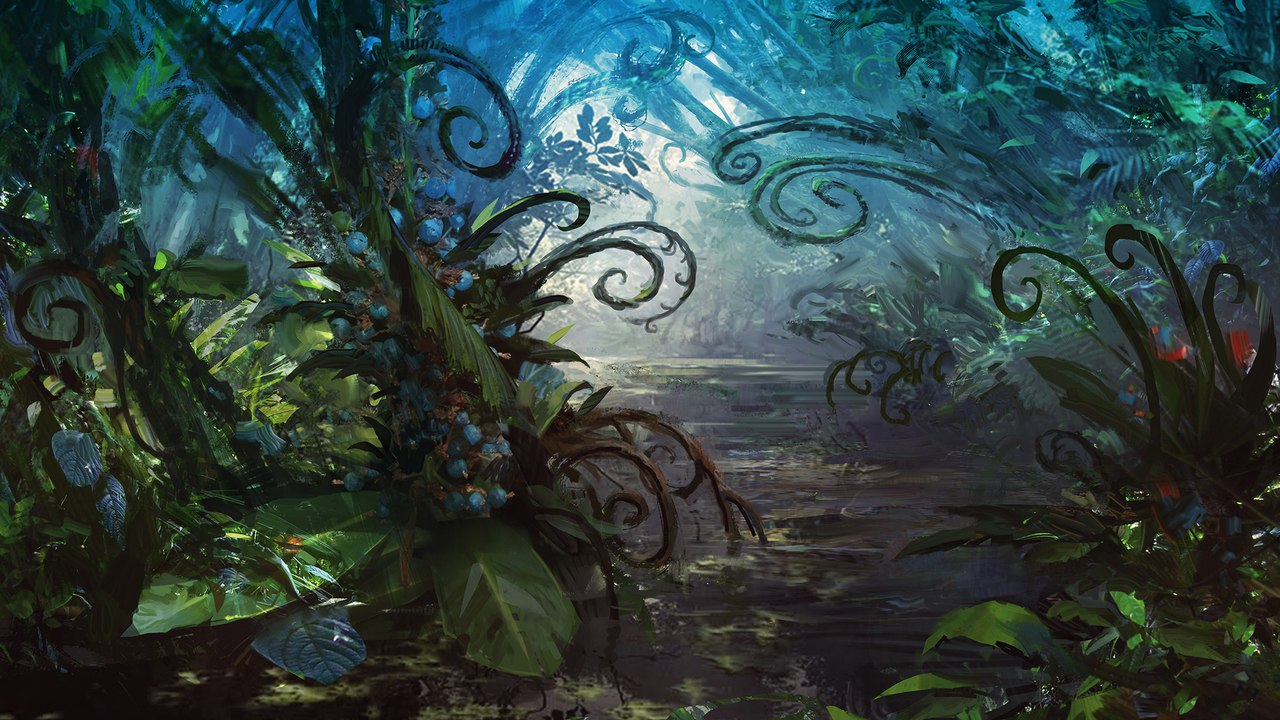 Blooming Marsh | Illustration by Adam Paquette