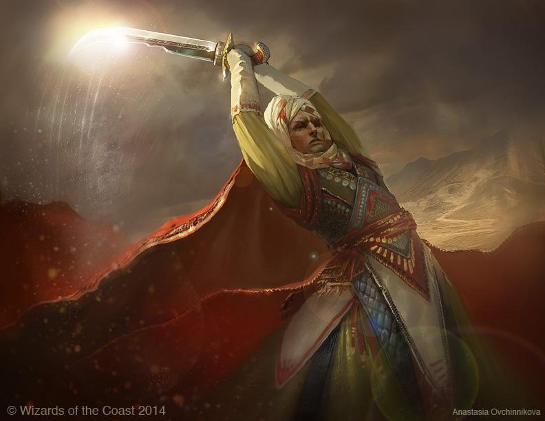 Defiant Strike   Illustration by Anastasia Ovchinnikova