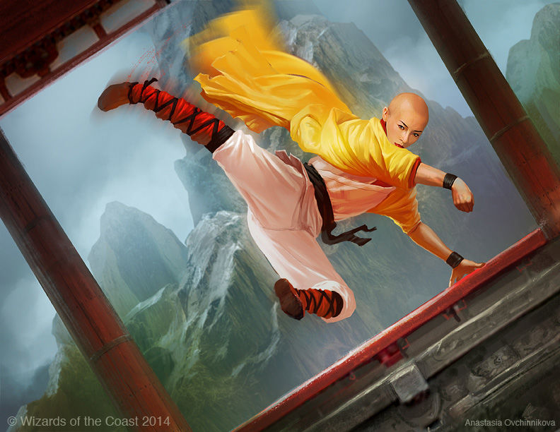 Leaping Master   Illustration by Anastasia Ovchinnikova