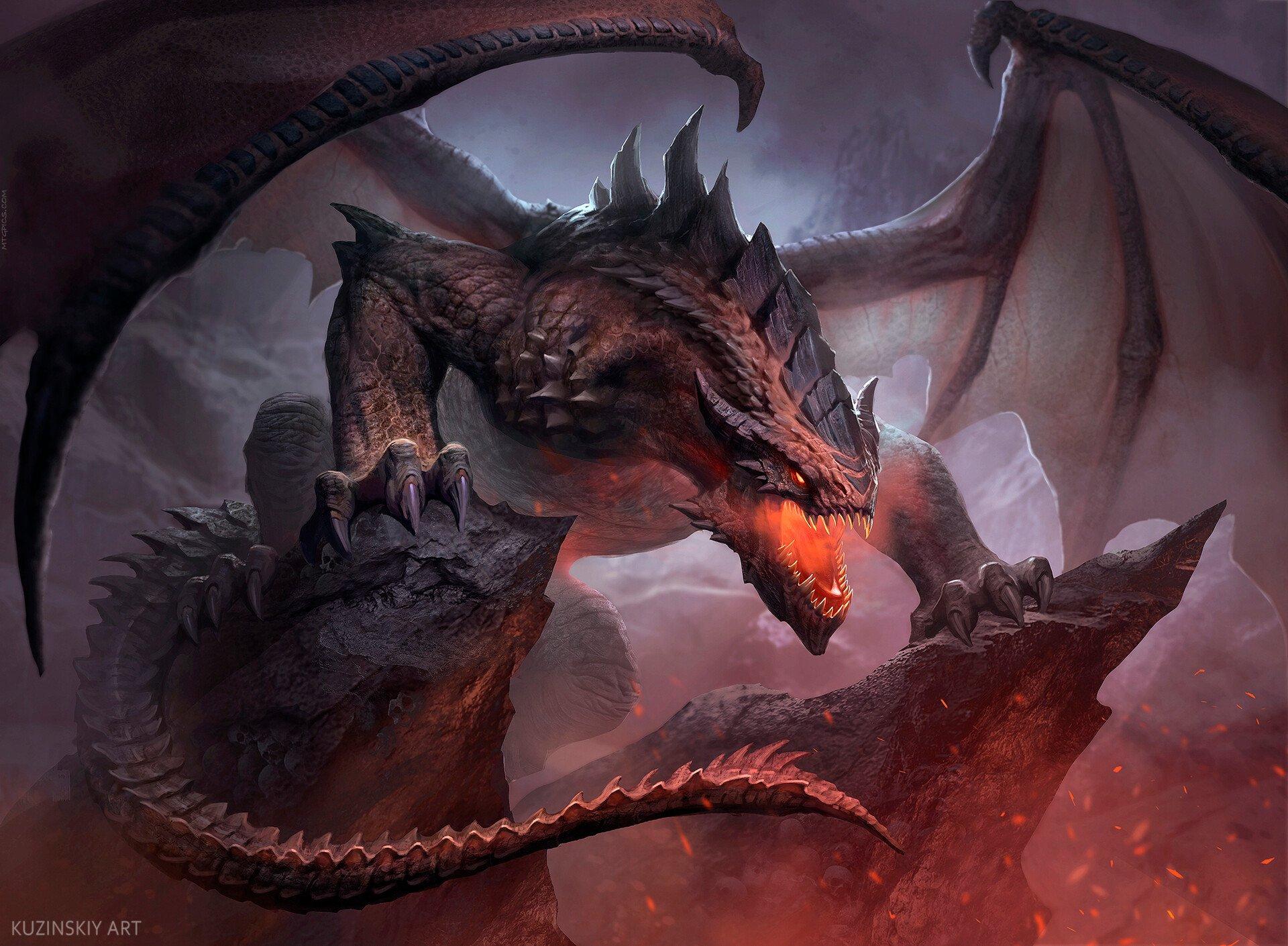Terror of the Peaks | Illustration by Andrew Kuzinskiy