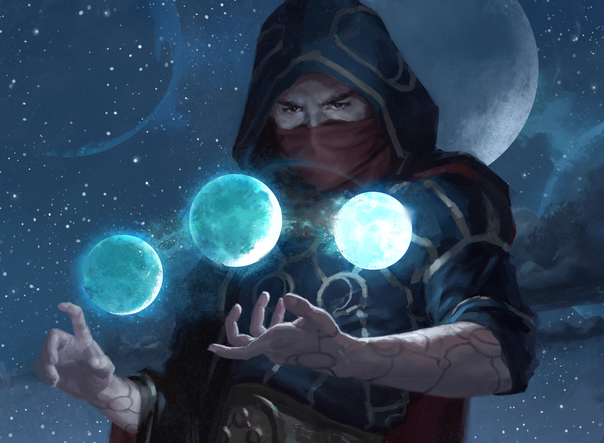 Pondering Mage | Illustration by Tommy Arnold