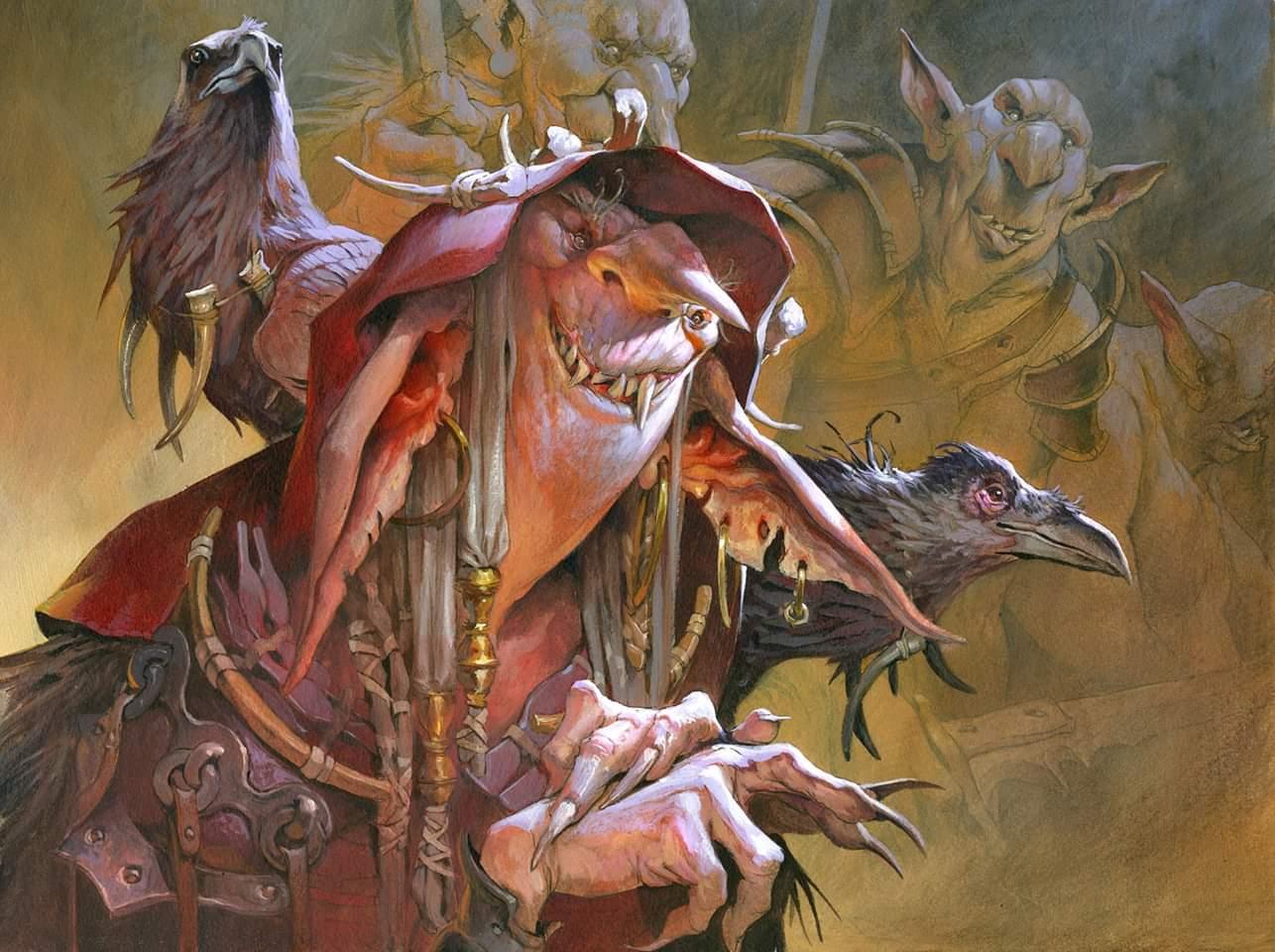 Goblin Matron | Illustration by Jesper Ejsing