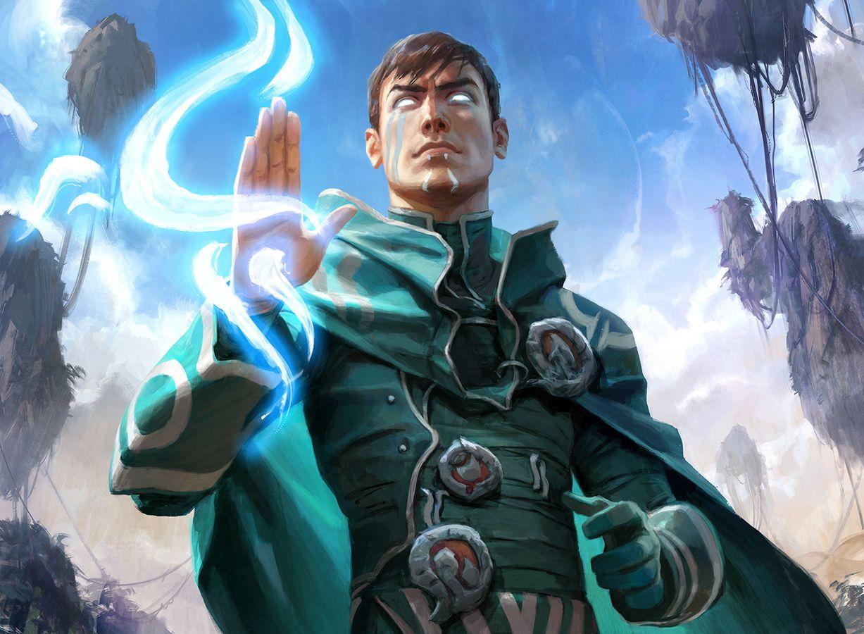 Oath of Jace | Illustration by Wesley Burt