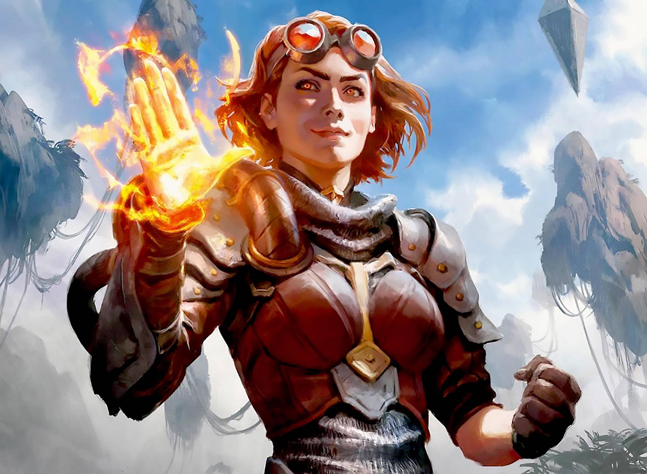 Oath of Chandra | Illustration by Wesley Burt