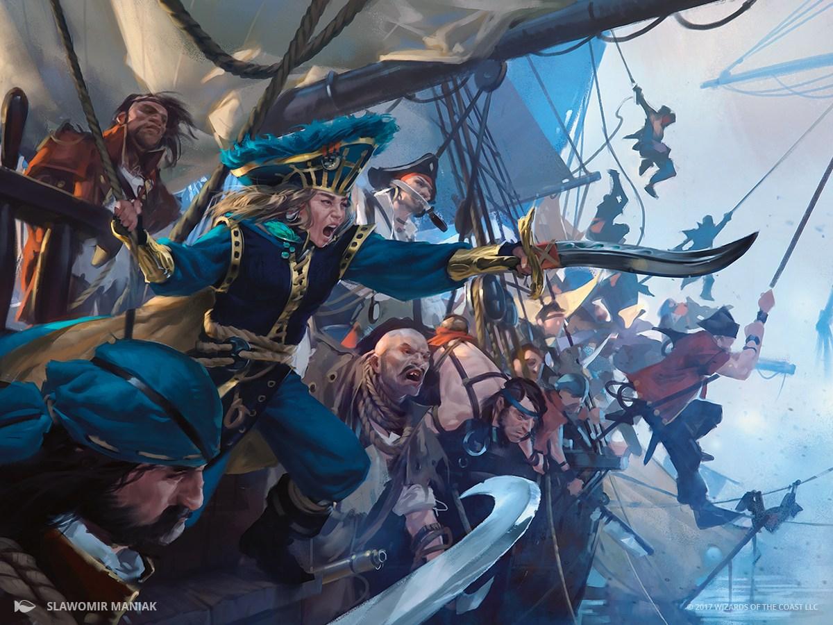Admiral's Order | Illustration by Slawomir Maniak