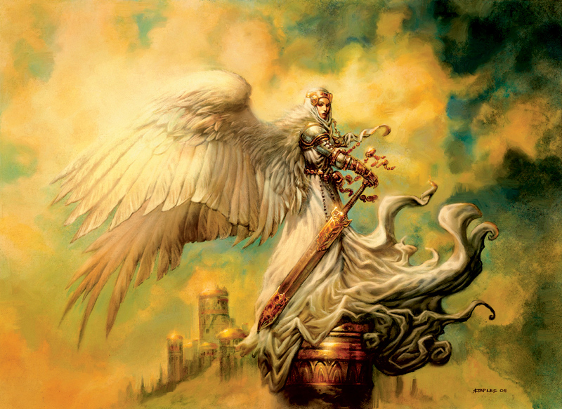 Empyrial Archangel   Illustration by Greg Staples