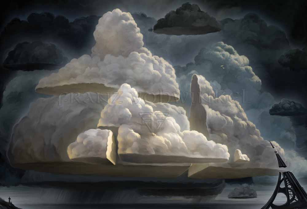 Esper Panorama | Illustration by Franz Vohwinkel