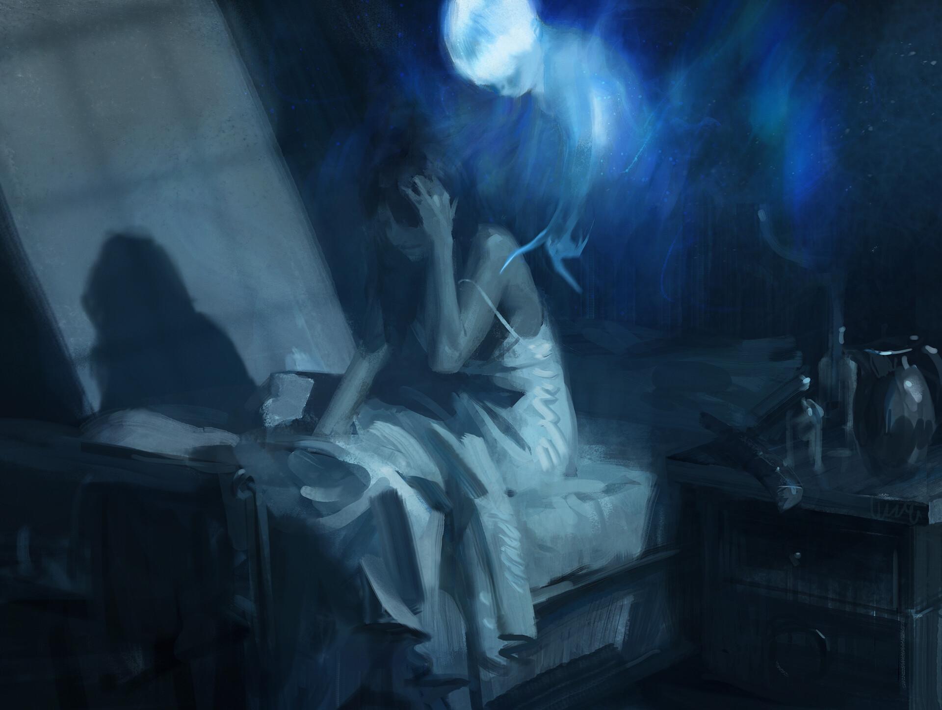 Startled Awake   Illustration by Sean Sevestre