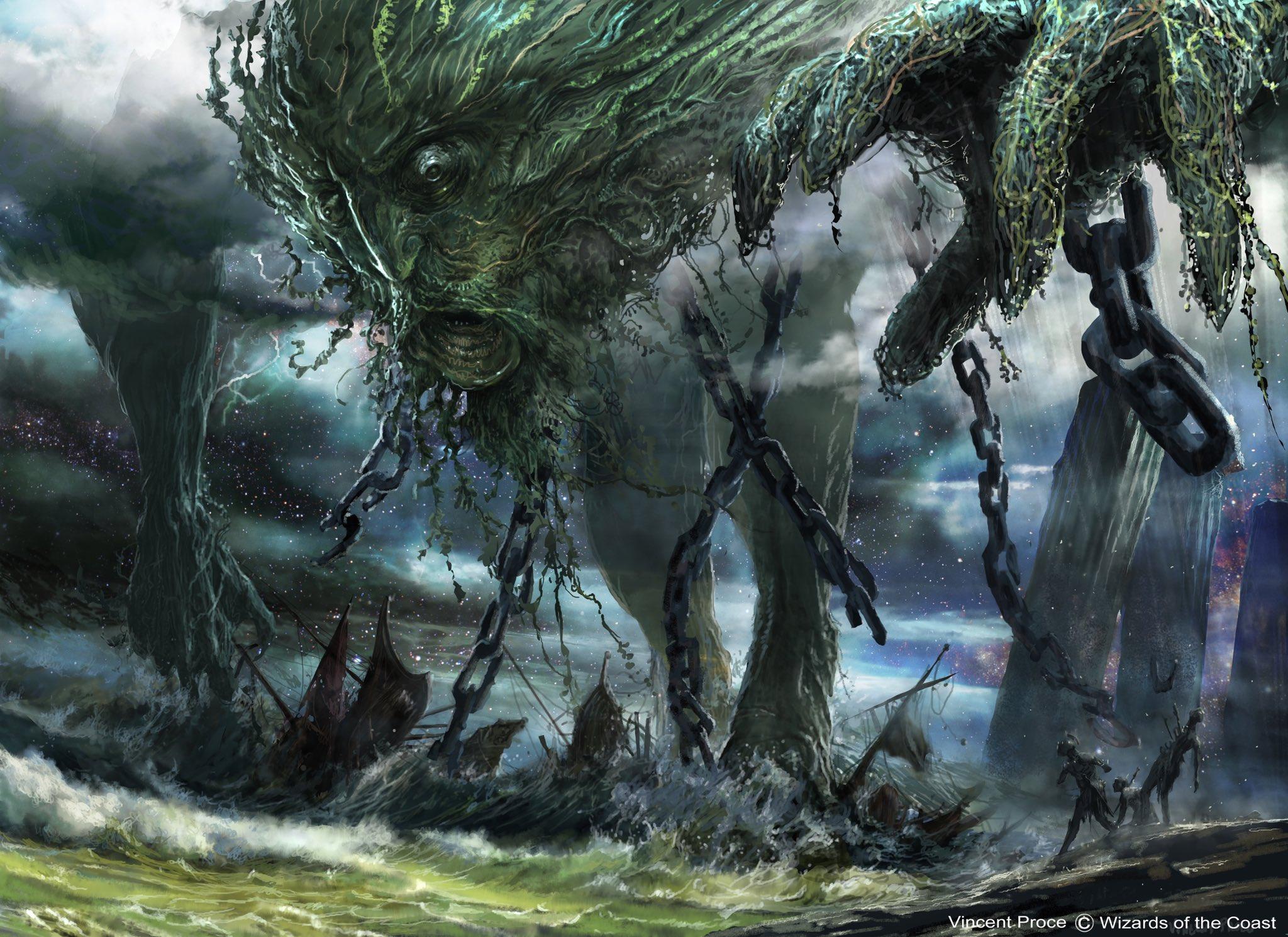 Uro, Titan of Nature's Wrath   Illustration by Vincent Proce