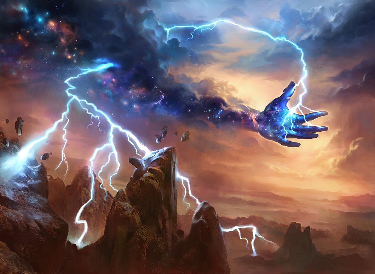 Lightning Strike   Illustration by Adam Paquette