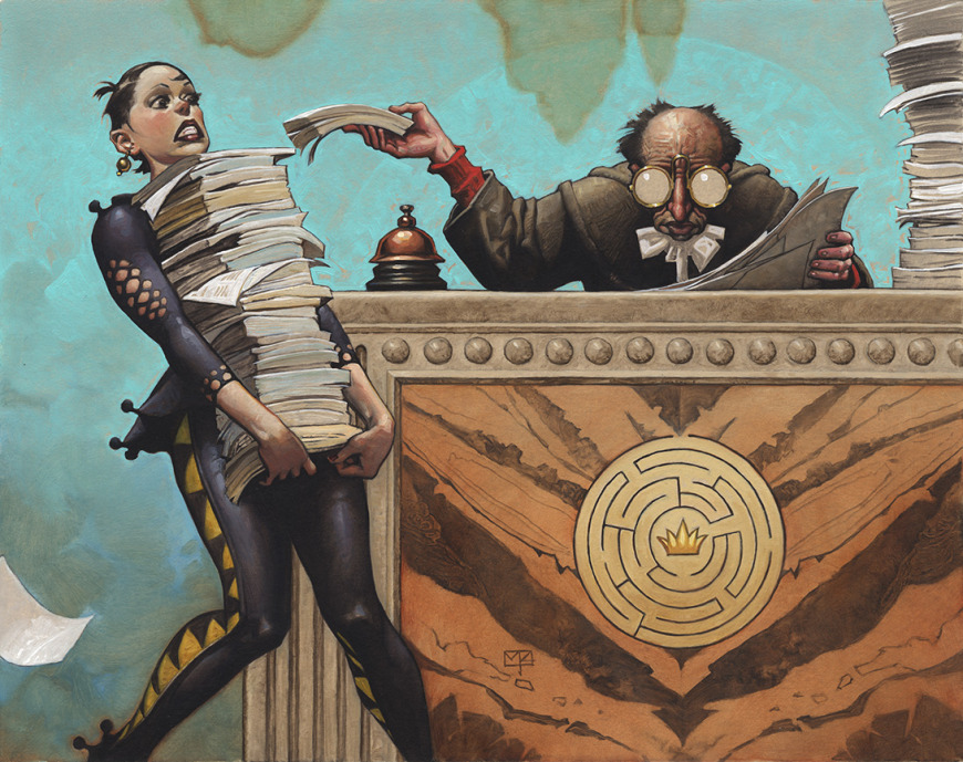 Bureaucracy   Illustration by Mark Zug