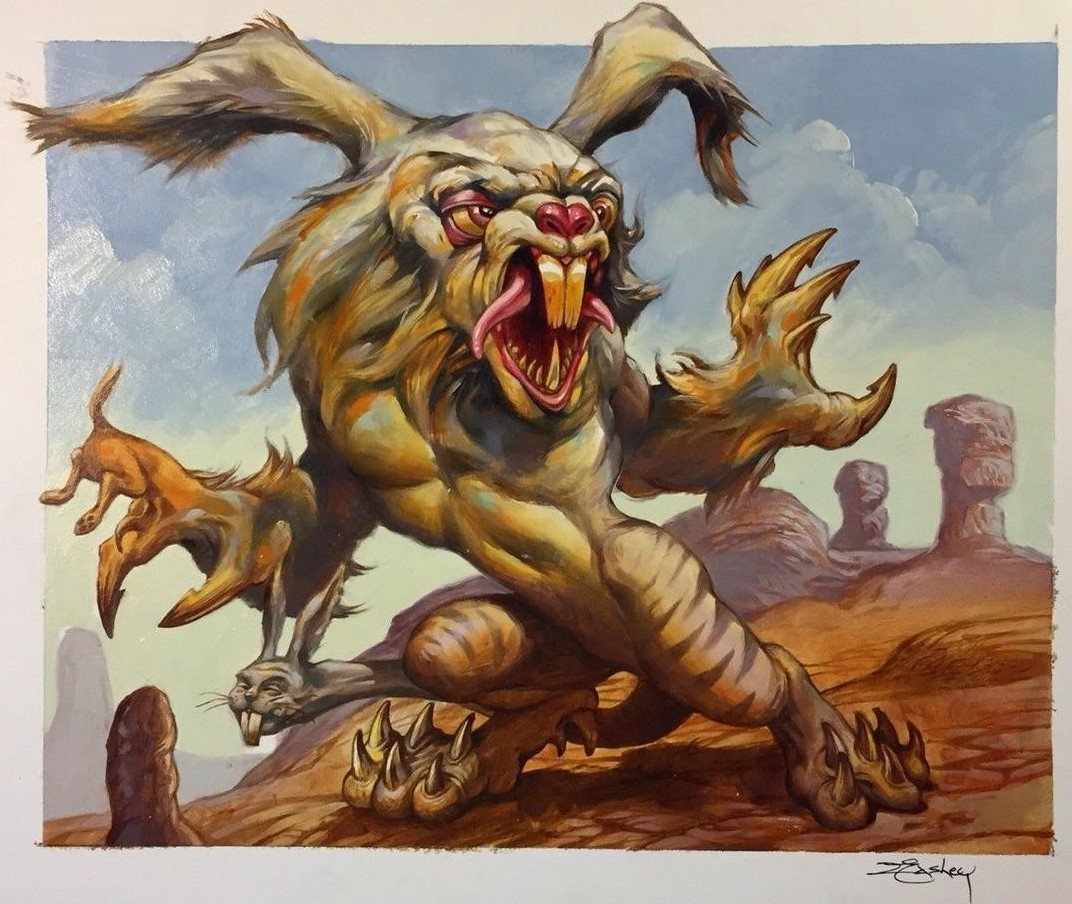 Creature Guy | Illustration by Jeff Easley