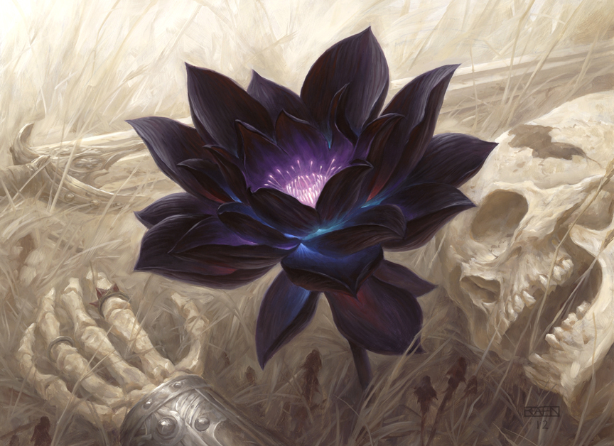 Black Lotus (Vintage Masters) | Illustration by Chris Rahn
