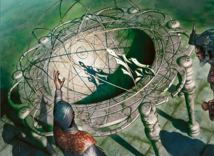 Seer's Sundial | Illustration by Franz Vohwinkel