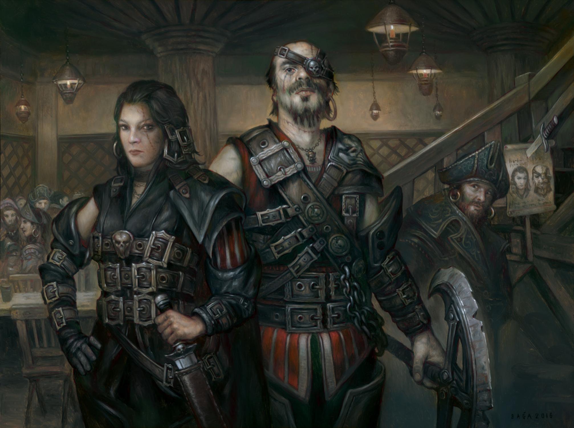 Wanted Scoundrels | Illustration by Volkan Baga