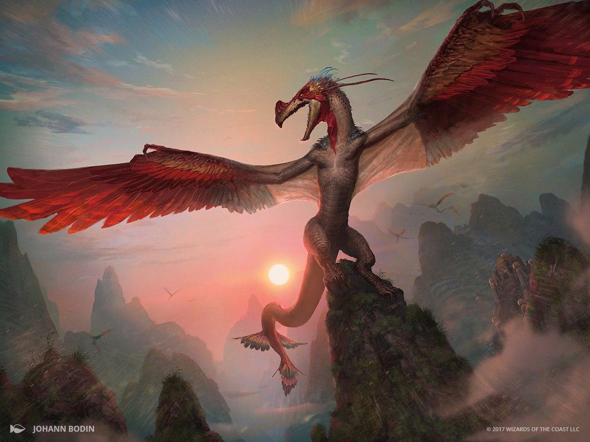 Sky Terror | Illustration by Johann Bodin