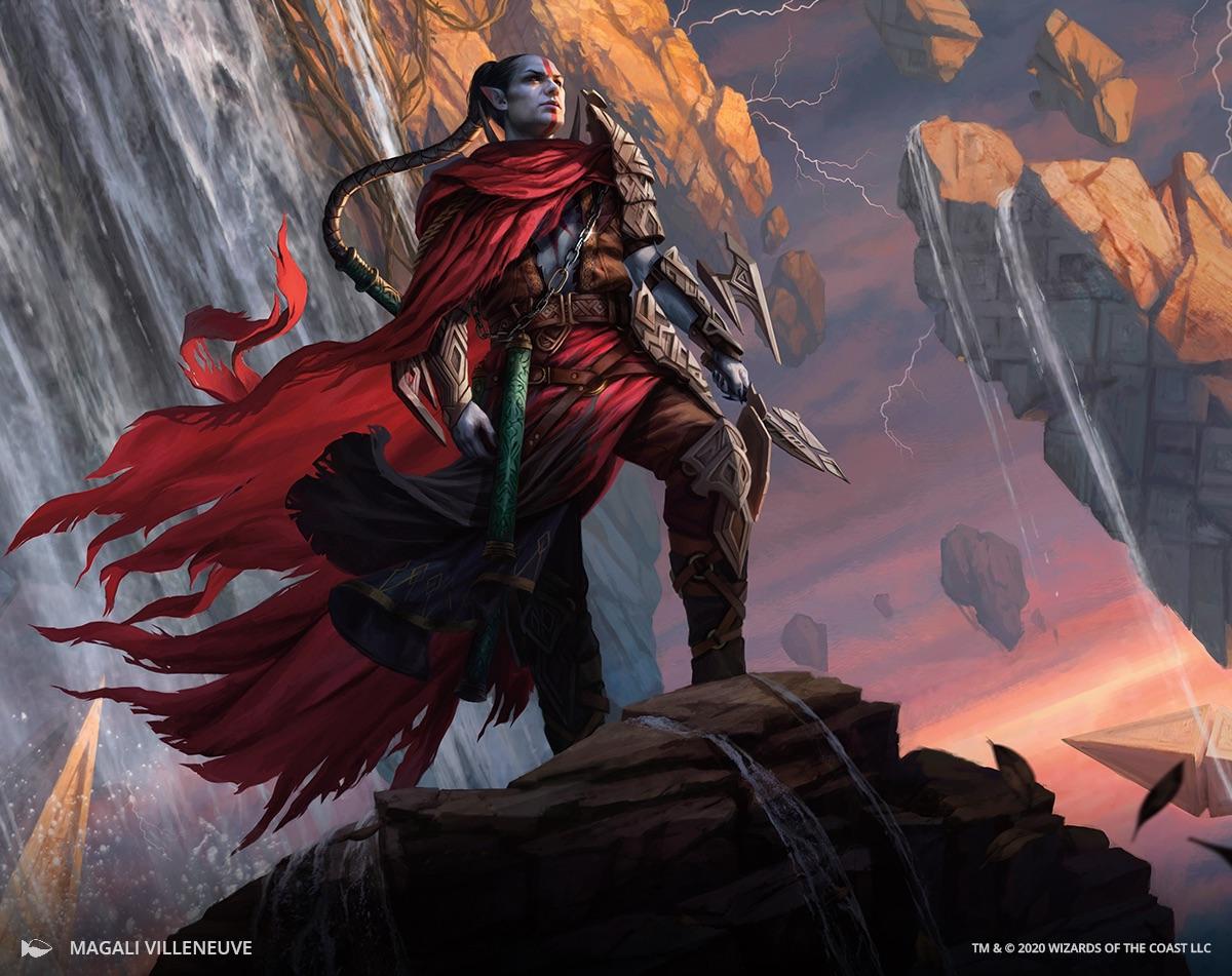 Anowon, the Ruin Thief | Illustration by Magali Villeneuve
