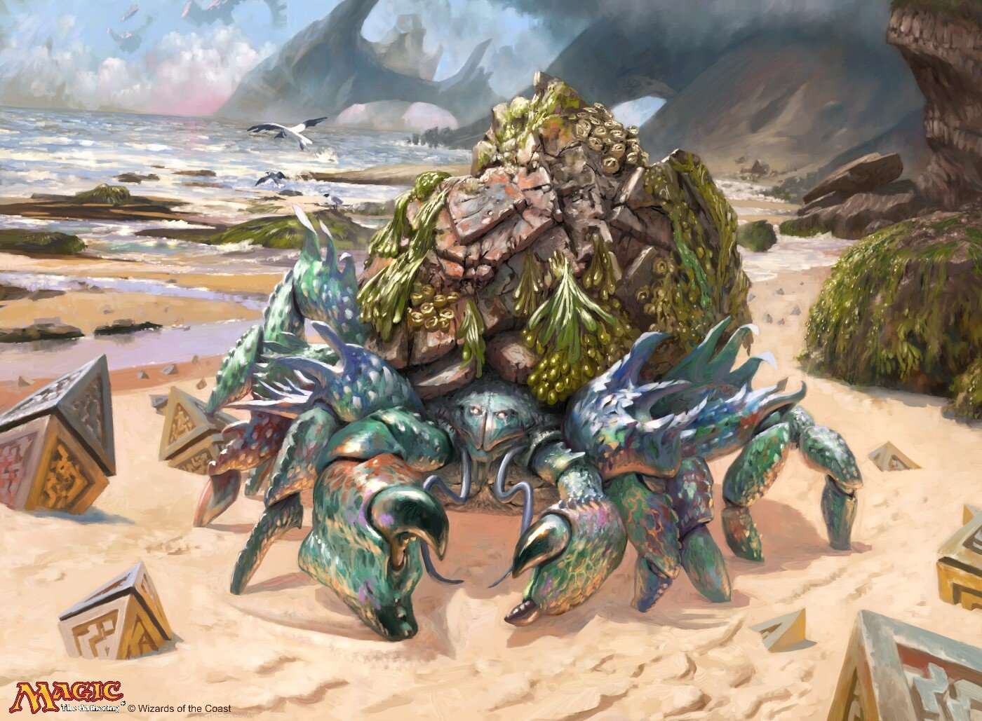 Ruin Crab | Illustration by Simon Dominic