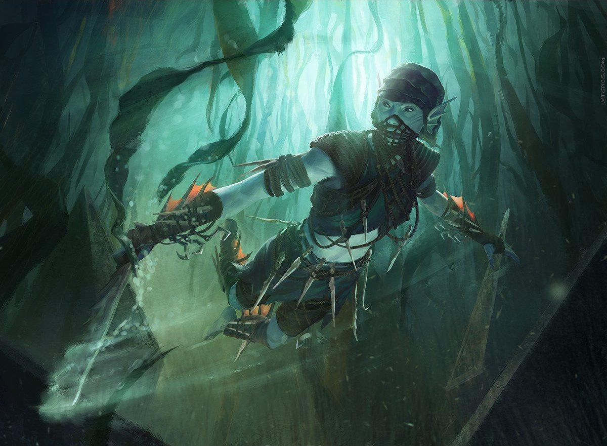 Seafloor Stalker | Illustration by Cristi Balanescu