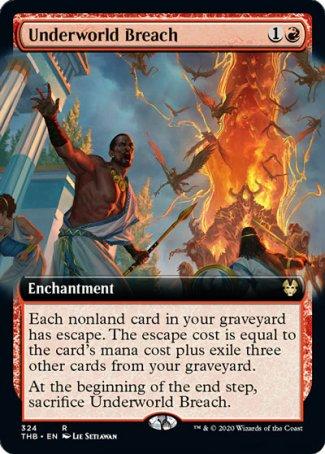 underworld breach Magic: The Gathering Arena Theros Beyond Death red meta
