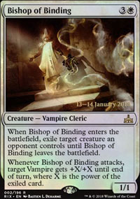 Bishop of Binding - Prerelease