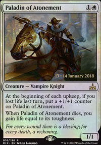 Paladin of Atonement - Prerelease