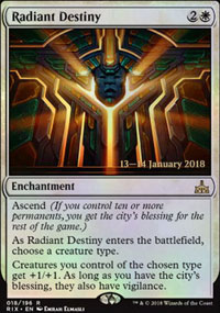 Radiant Destiny - Prerelease