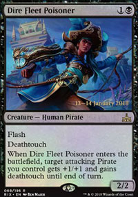 Dire Fleet Poisoner - Prerelease