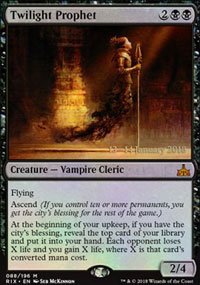 Twilight Prophet - Prerelease