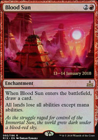 Blood Sun - Prerelease