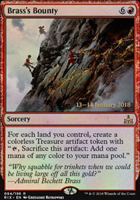 Brass's Bounty - Prerelease