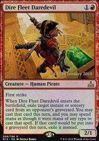 Dire Fleet Daredevil - Prerelease