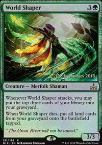 World Shaper - Prerelease