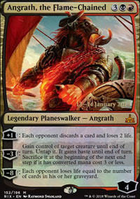 Angrath, the Flame-Chained - Prerelease