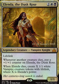 Elenda, the Dusk Rose - Prerelease