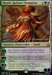 Huatli, Radiant Champion - Prerelease