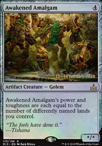 Awakened Amalgam - Prerelease