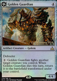 Golden Guardian - Prerelease